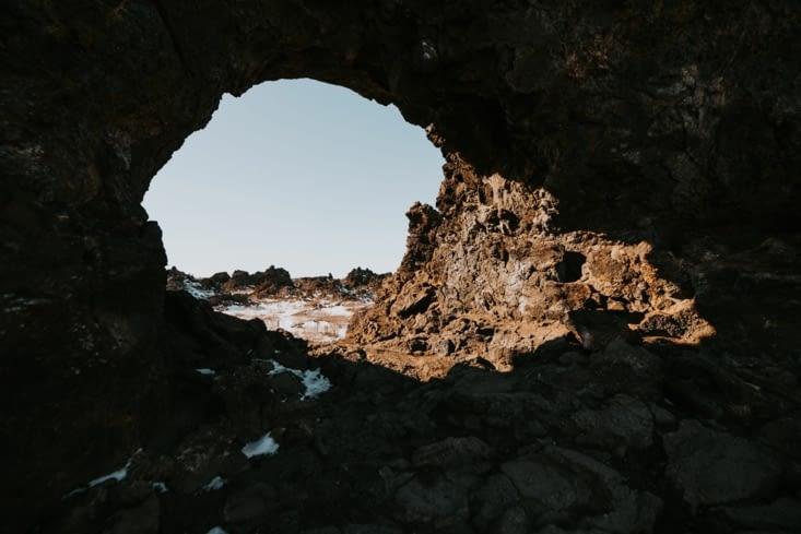 Encore ce rocher troué !