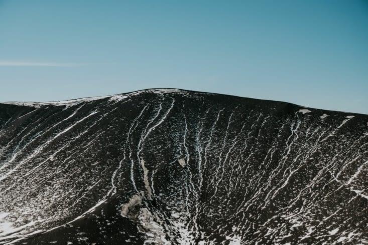 Intérieur du volcan Hverfjall