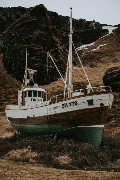 Bateau de pêche à Ólafsvík