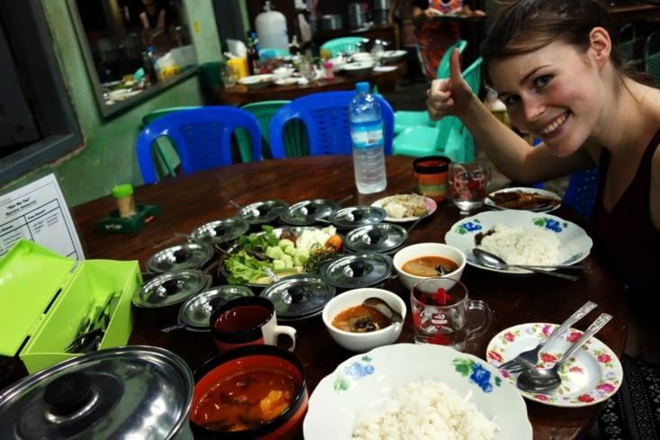 Burmese diner