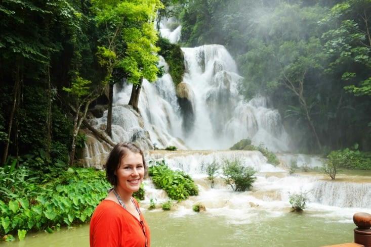 Cascade Kuang Si / Kuang Si waterfall