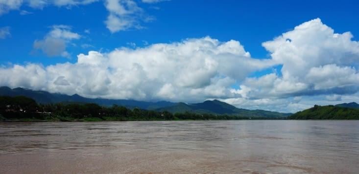 La vue sur le Mékong / The view on the Mekong River