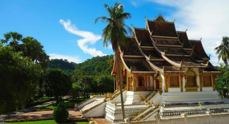 Le temple abritant la statue du Pha Bang / The temple in which there is the Pha Bang statue