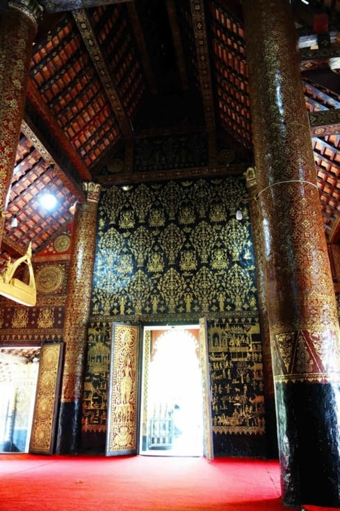 Le temple Xieng Thong / Xieng Thong temple