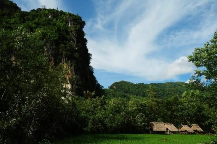 La campagne de Nong Khiaw/The Nong Khiaw countryside