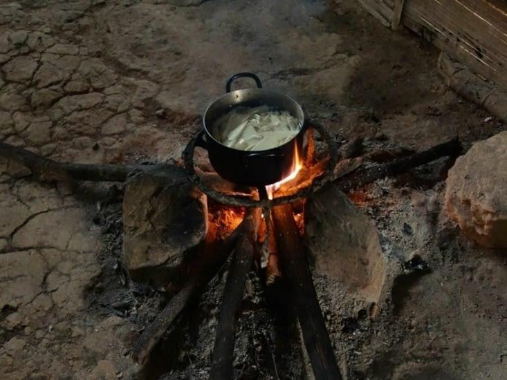 Cuisine au feu de bois / Wooden-fired cooking