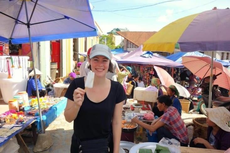 Glace locale / Local ice-cream