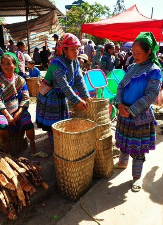 Vente de paniers / Sell of baskets