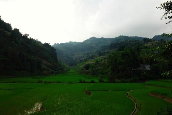 Vue sur les collines / View on the hills