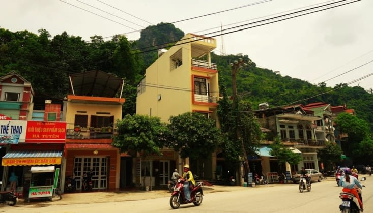 Ha Giang, une petite ville / Ha Giang a small city
