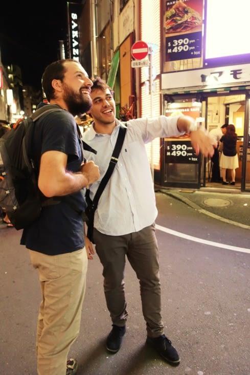 Antonio et Julien