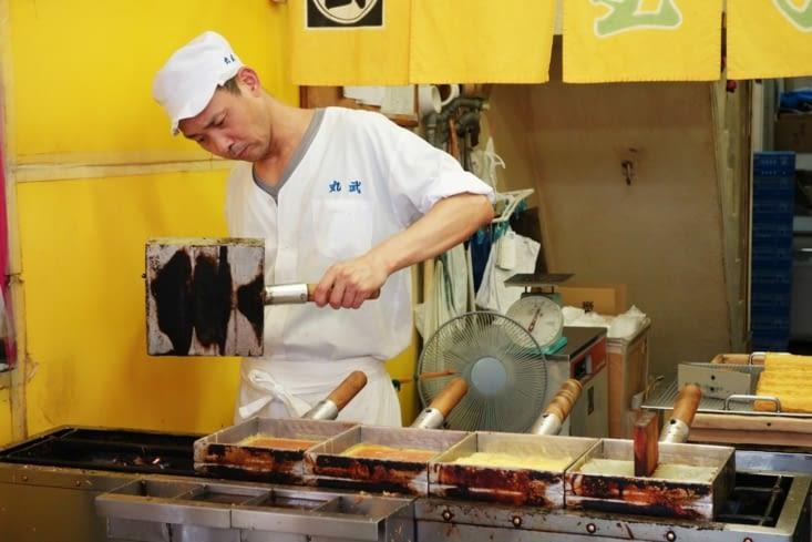 Omelette japonaise /  Japanese omelet