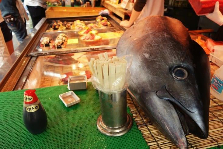 Tête de thon / Tuna head