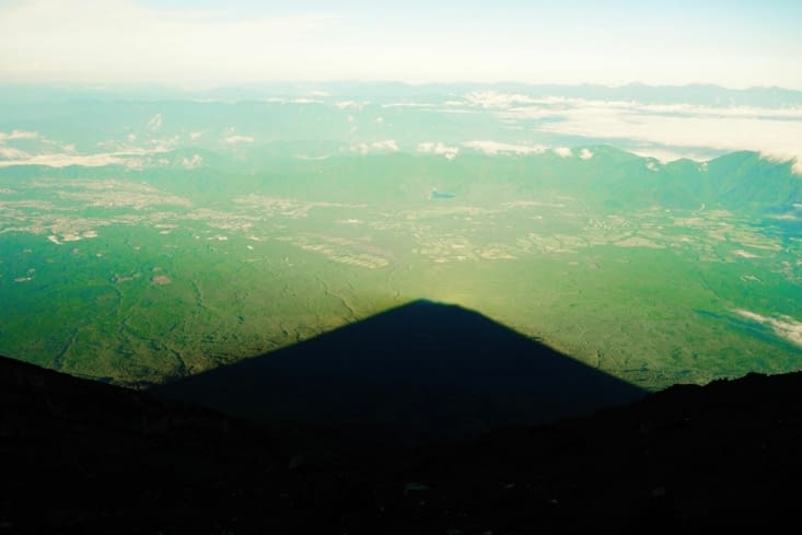 L'ombre du mont Fuji /The shadow of Fuji Mount