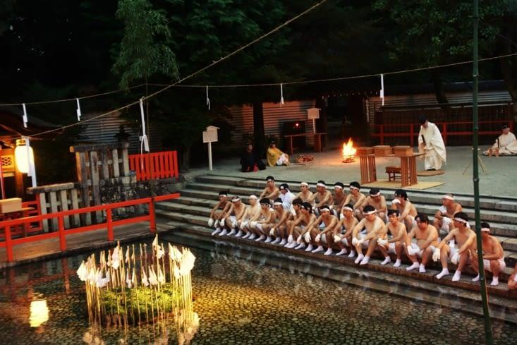 Cérémonie de la purification / Purification celebration