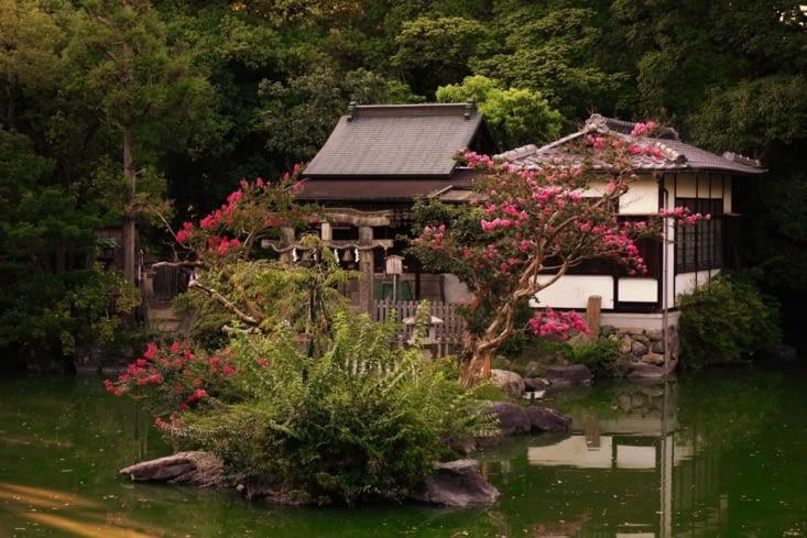 Jardin du palais impérial / Garden of the imperial palace