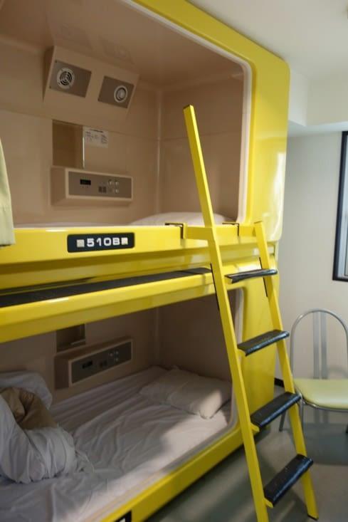 Hotel capsule / Capsule hotel