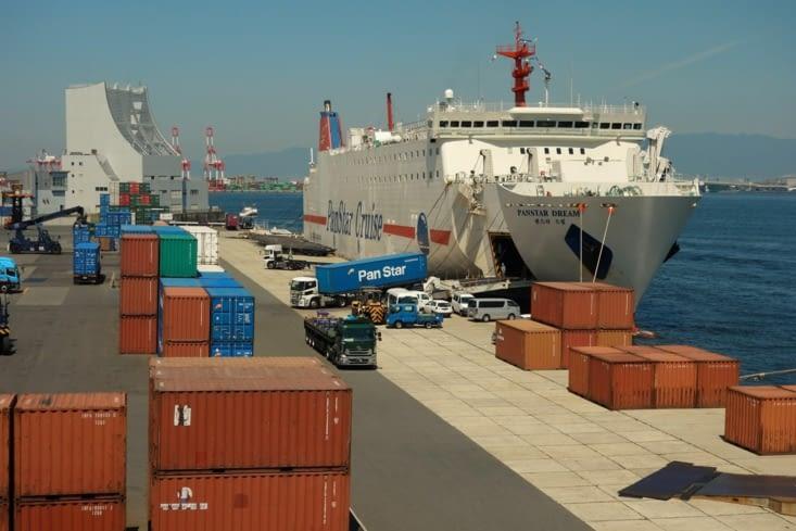 Port à Osaka / Osaka harbour