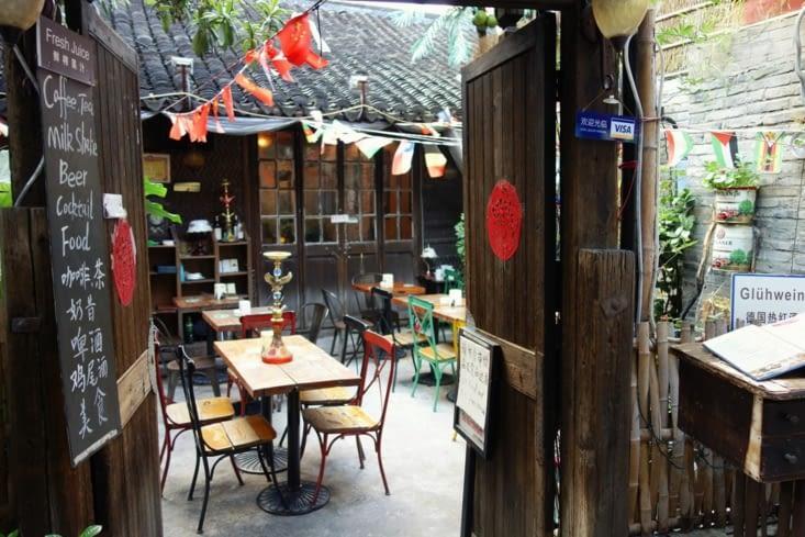 Bar à/in Tianzifan