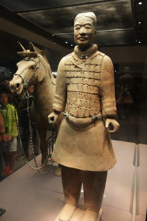 Cavalier reconstitué / Horseman reformated