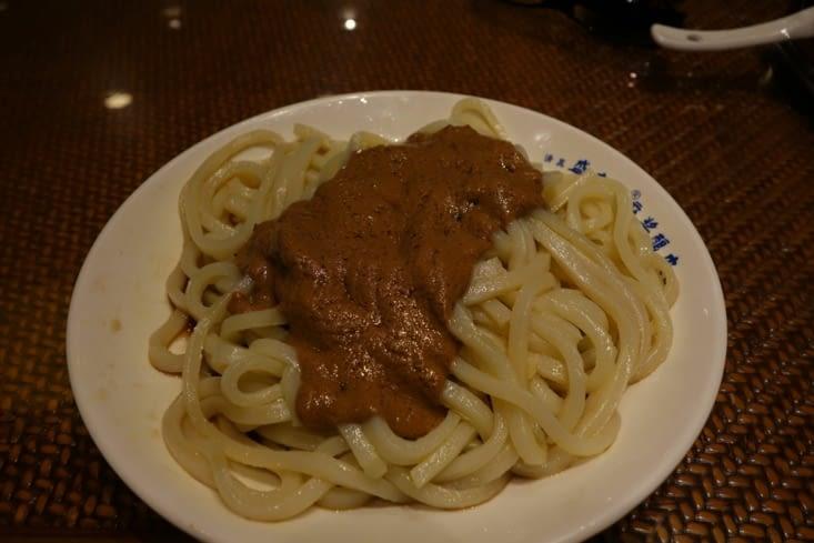 Nouilles et sésame / Sesame and noodles