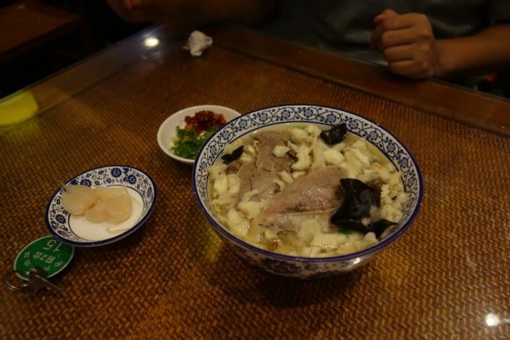 Shaanxi soupe / Shaanxi soup