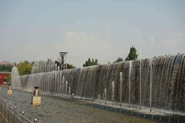Spectacle aquatique / Water show