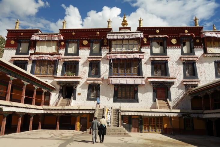 Le monastère Drepung / Drepung monastery 2