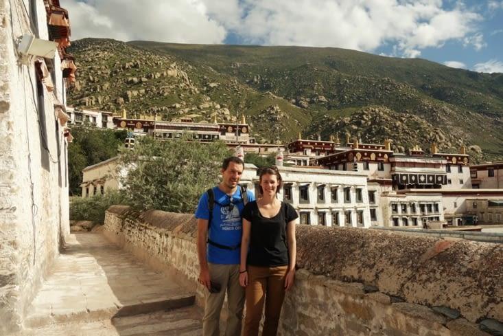 Le monastère Drepung / Drepung monastery