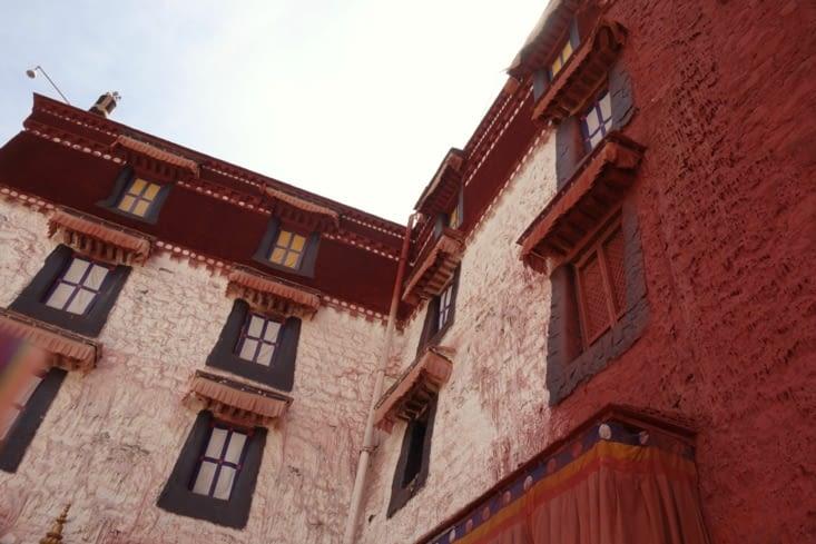 Le palais rouge et le palais blanc / The white and red palaces