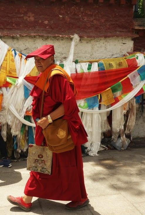 Moine du clergé Nyingmapa / Monk of the Nyingmapa sect
