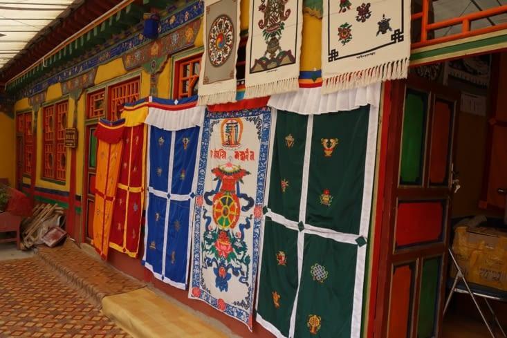 Tentures tibétaines / Tibetan hangings