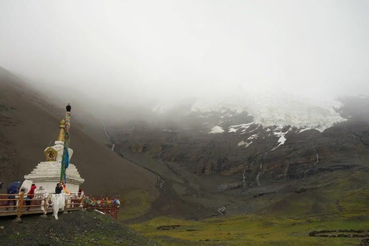 Le glacier Karo La / Karo La glacier 2