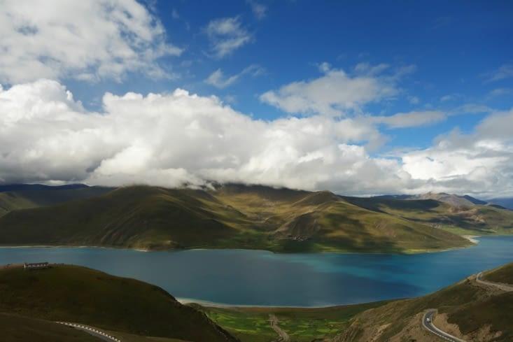 Le lac Yamdrok / Yamdrok lake