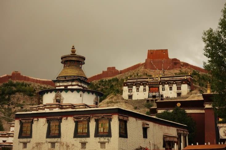 Le monastère de Palcho à Gyantse / Palcho monastery in Gyantse 2