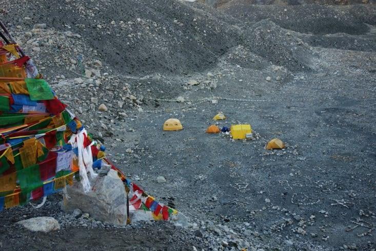 Le vrai camp de base de l'Everest / The (real) Everest base camp
