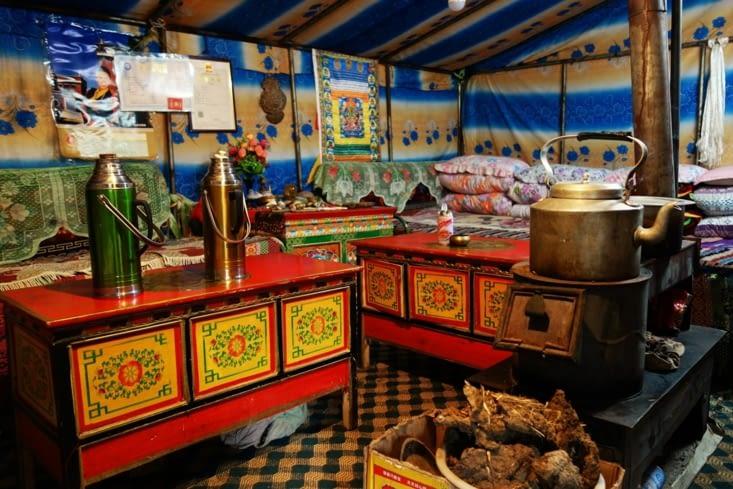 Notre tente / Our tent