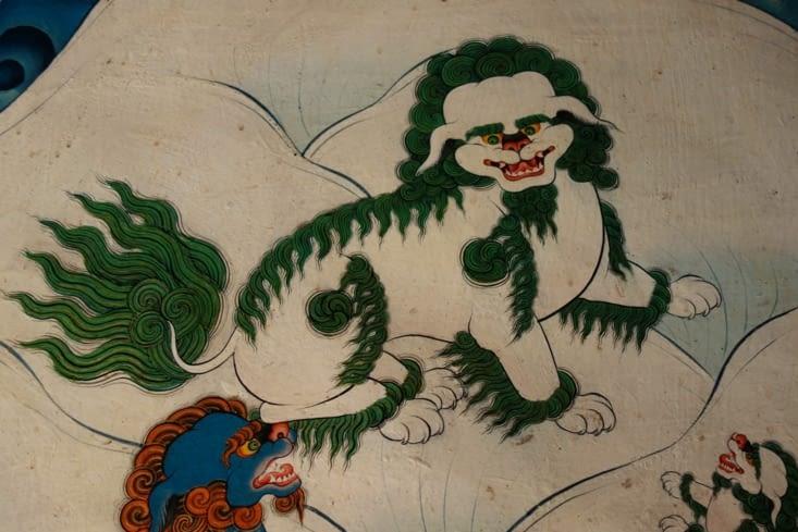 Lion des neiges / Snowlion