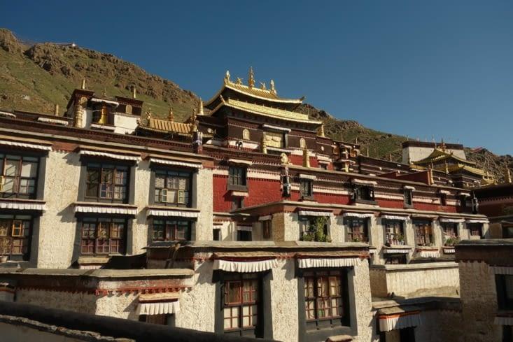 Monastère de Ta Shi Lhun Po / Ta Shi Lhun Po Monastery