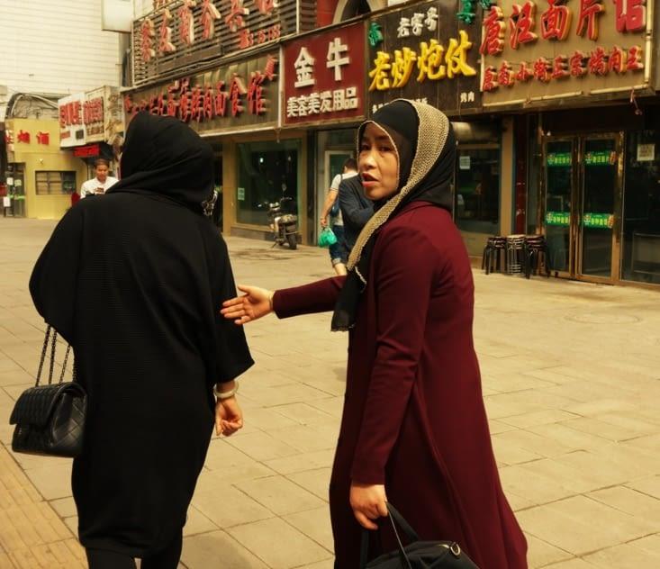 Femmes musulmanes chinoises / Muslim chinese women