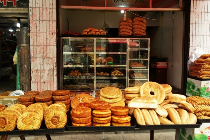 Pains traditionnel d'Asie Centrale / Traditional bread in Central Asia
