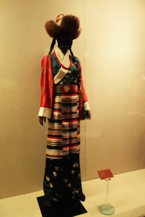 Tenue traditionnelle Tibétaine / Traditional Tibetan clothes
