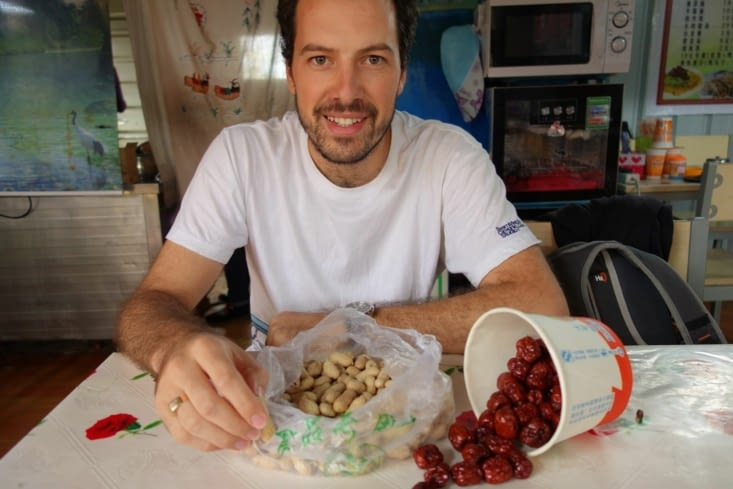 Cacahuètes et baies de Goji / Peanuts and wolfberries