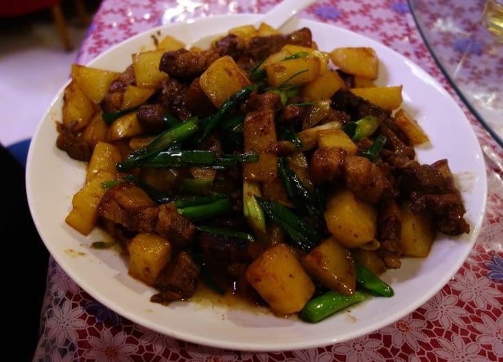 Pommes de terre et porc / Potatoes and pork