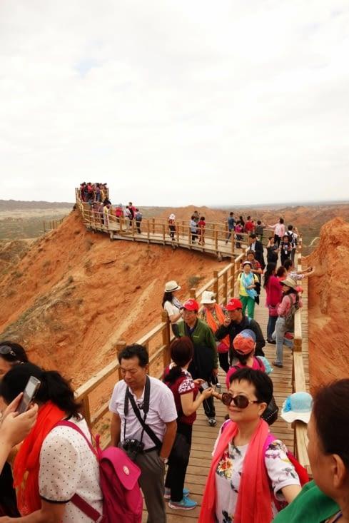 Tellement de touristes / So many tourists