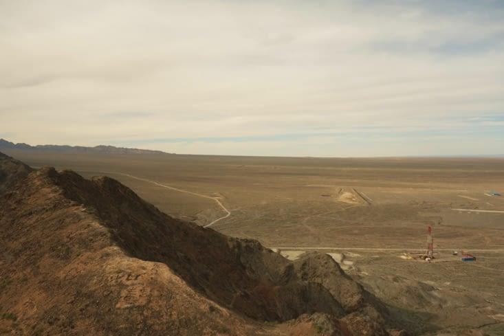 Le desert de Gobi (ou le début) / The Gobi desert (or its beginning)