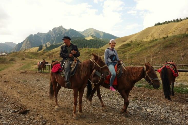 Balade à cheval / Horse riding