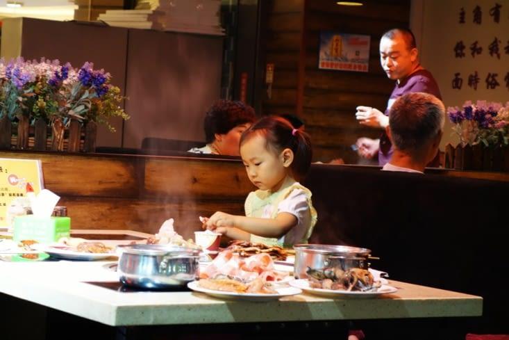 Buffet chinois / At the buffet