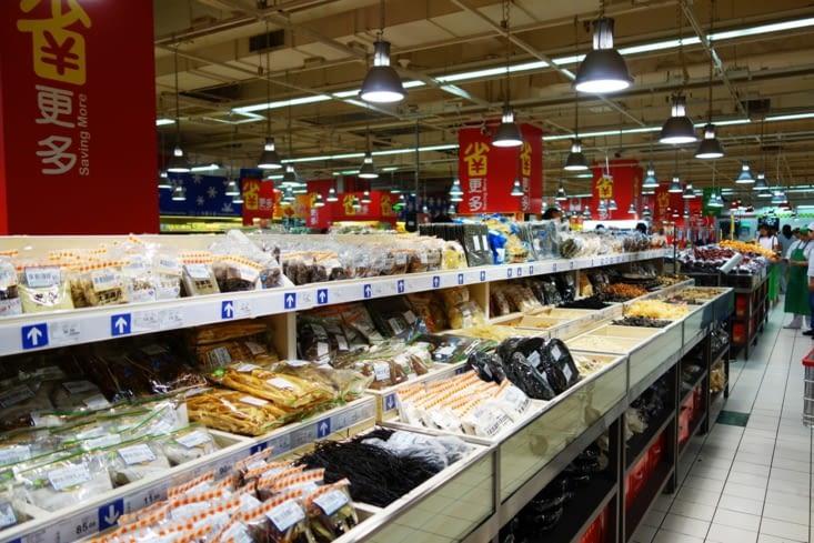 Rayon d'épices à Carrefour / Spices section in Carrefour