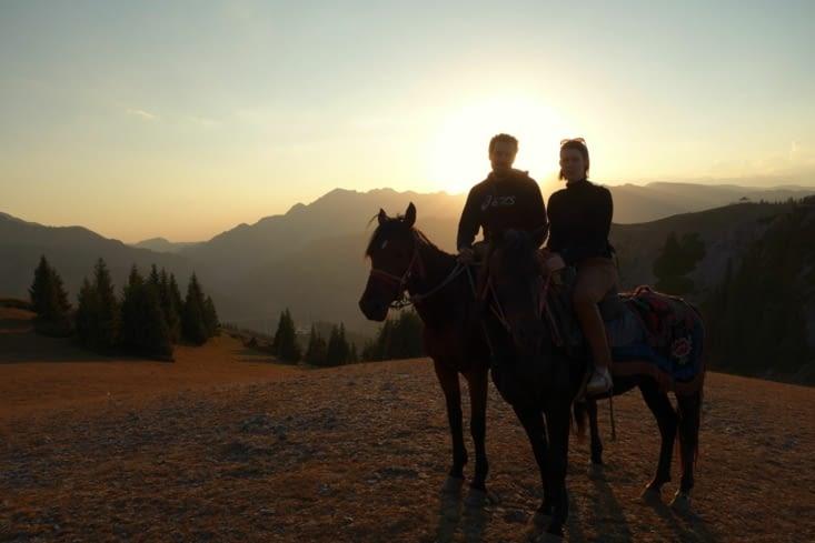 En randonnée / Horse riding